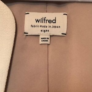 Wilfred Two tone Open Blazer size 8
